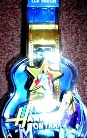 Hannah Montana LCD Watch Wristwatch Gold